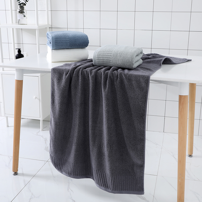 Image 3 - LREA 1pc FASHION Pure and fresh style face towel 100% cotton material Soft and comfortable Protect your skin 34x71cm-in Face Towels from Home & Garden