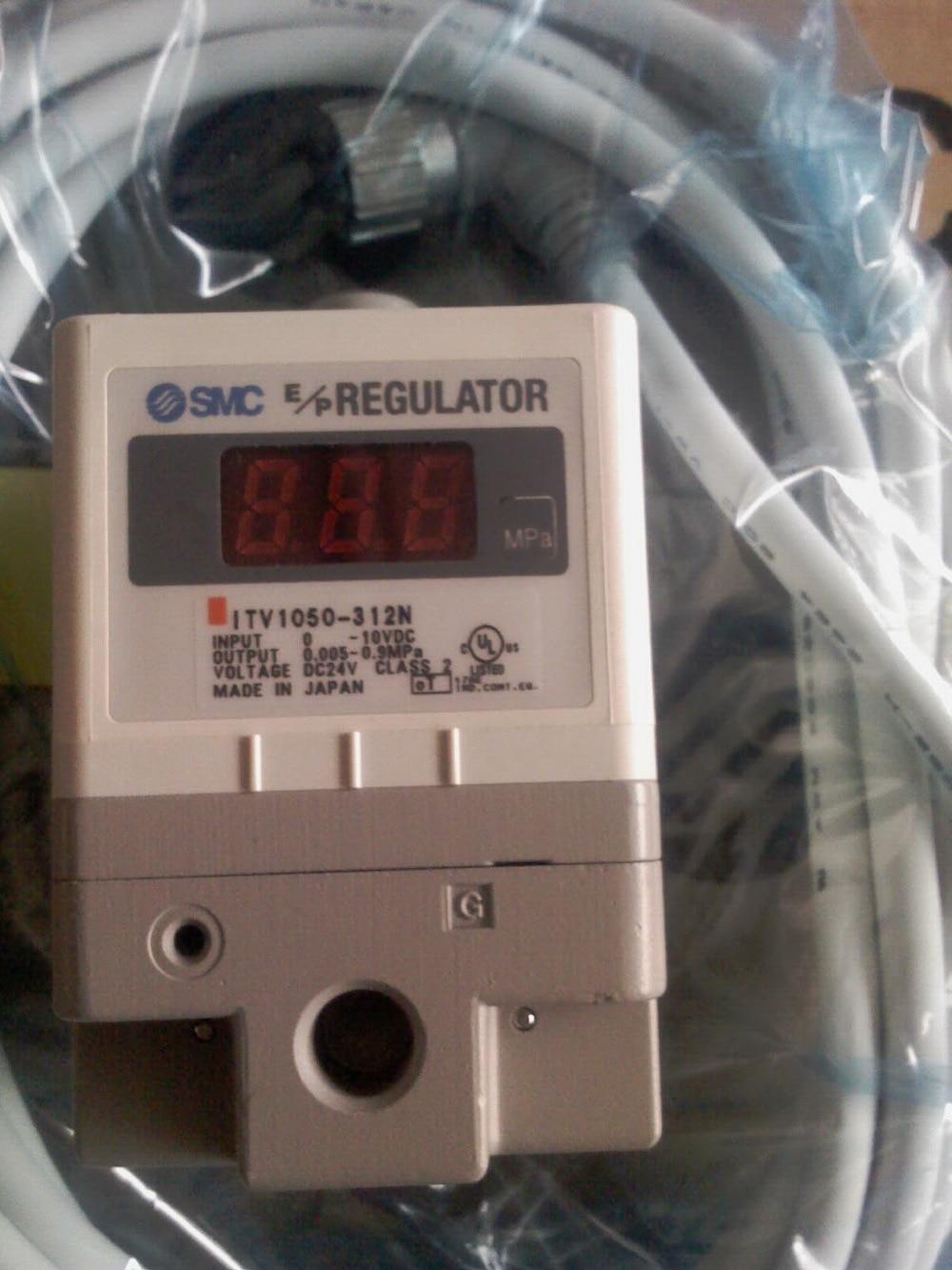 ELECTRO/PNEUMATIC REGULATOR ITV1010-312CS 24VDC 1/8 PORT NEW itv2030 312l electro pneumatic regulator 24vdc 1 4 port 0 10v input