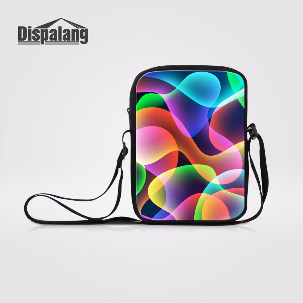 New Fashion Dispalang Novelty Colorful Striped Casual Mini Female Lady Shoulder Crossbody Bags Messenger Bags For School Children Girls Boys Warm And Windproof Men's Bags