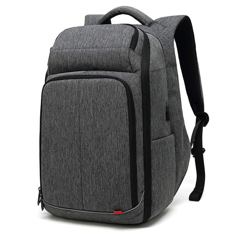 ขนาดใหญ่ 17 นิ้วกระเป๋าเป้สะพายหลังแล็ปท็อปกันน้ำกับ USB ชาร์จพอร์ตแฟชั่นกระเป๋าเป้สะพายหลัง Mochila-ใน กระเป๋าเป้ จาก สัมภาระและกระเป๋า บน   1