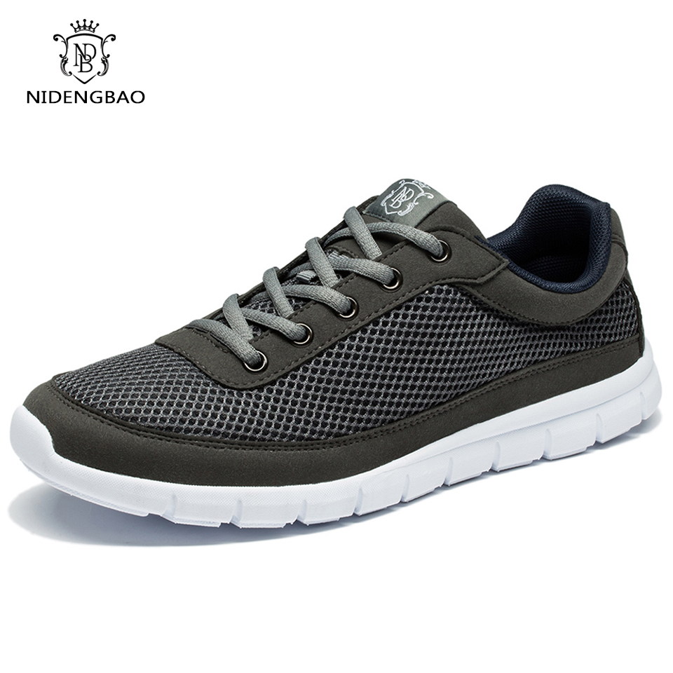 Marque Chaussures Hommes Casual Respirant À Lacets Chaussures De - Chaussures pour hommes - Photo 3