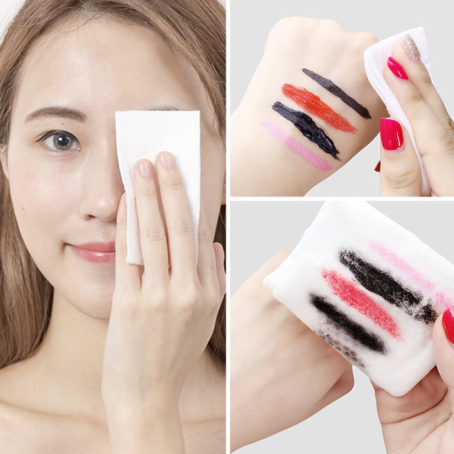 1pc Protable Deep Ocean Cotton Makeup Remover Wipes Facial Make Up Remove Patch Wet Towel Cleanser Deep Cleansing Pads 5