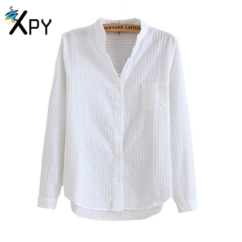 Delgada Camisa de Las Mujeres Del Verano salvaje V-cuello hueco roscado camisa d