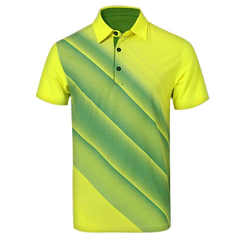Pgm golf apparel mens t shirt golf spring summer for Plus size golf polo shirts