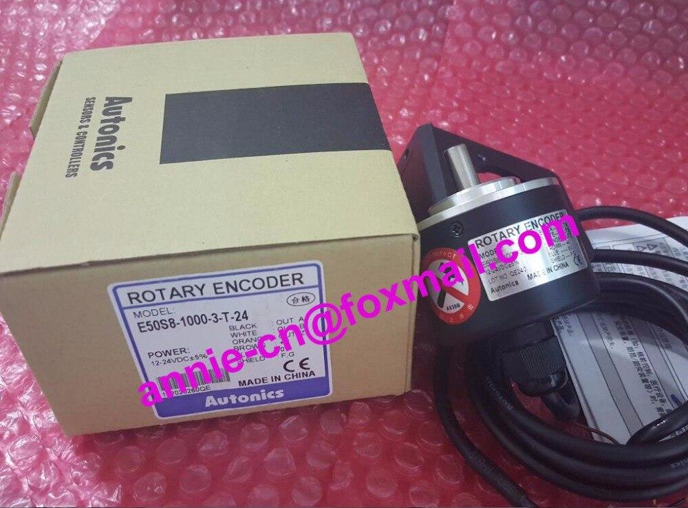 все цены на  100% New and original  E50S8-1000-3-T-24  Autonics  ENCODER  онлайн