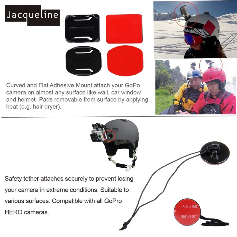 Jacqueline for Bag Accessories Accessories Mout Holder Gopro HD 6 5 4 - Kamera dhe foto - Foto 5