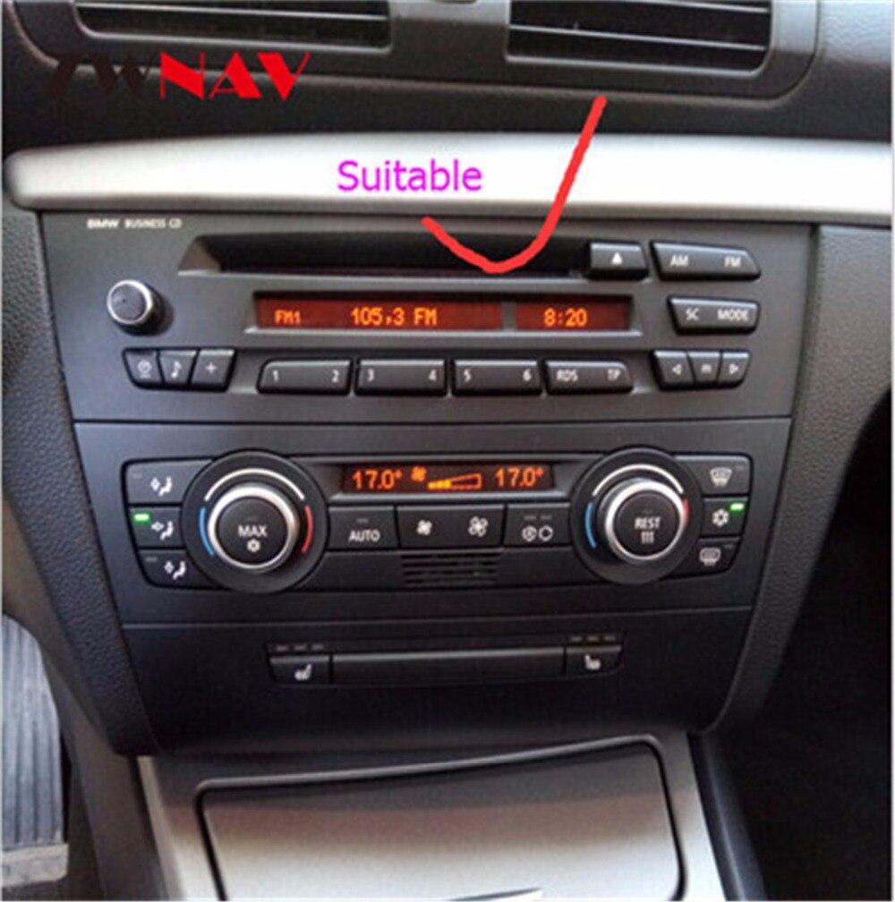 Android 8.0 GPS Per Auto Lettore DVD Radio Anti-abbagliante IPS Dello Schermo Per BMW 1 Serie E81 E82 E87 E88 116i 118i 120i 130i 2004-2012