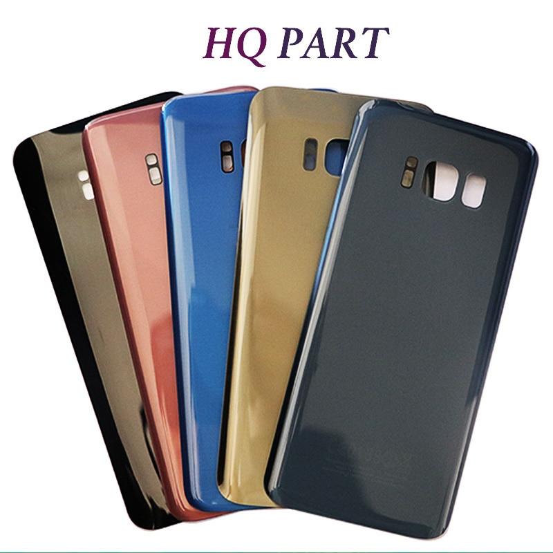 D'origine Pour Samsung S8 G950F Retour de Batterie En Verre Logement de Couverture Pour Samsung S8 Plus S8 + G955F Couverture Arrière avec de suivi