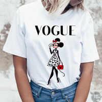 Новая забавная модная футболка с принтом мыши для девочек в стиле Парижа женская летняя одежда футболка с короткими рукавами для женщин фут...