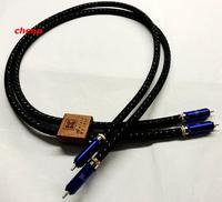 Free shipping KS 1036 Interconnect cable audio rca cable