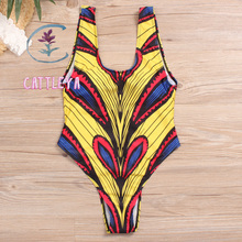 CATTLEYA one piece swimsuit  swimwear women Swim Suit Vintage CQ 1852