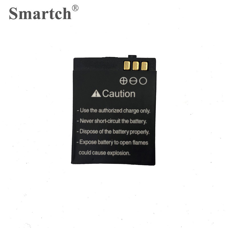 Vigilanza Batteria di ricambio per Y1 Orologio Intelligente, 380 mAh, Orologio Batteria Al Litio Ricaricabile per Smart Clock Y1