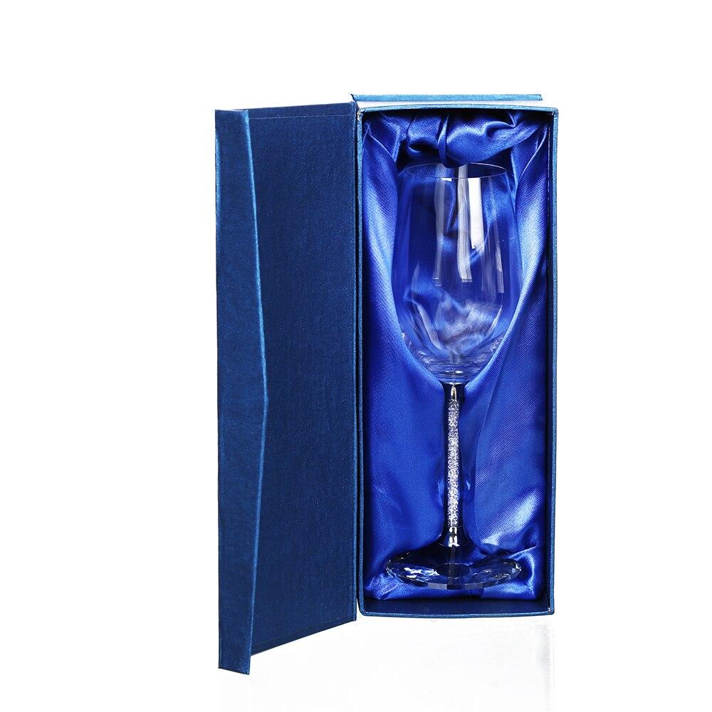 Boda vino gafas 1 piezas 350 ml gafas copa de cristal de fiesta de lujo de vidrio de vino Copa decoración regalo diseño ePacket