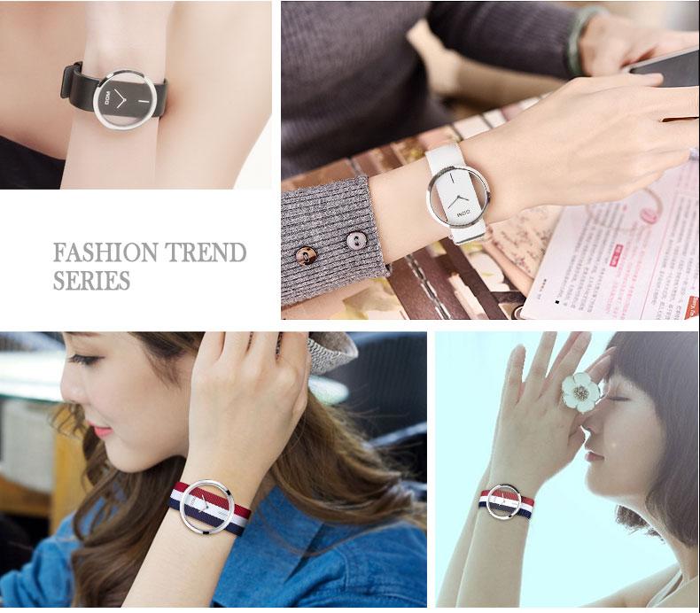 DOM: Reloj de pulsera de lujo para mujer 4