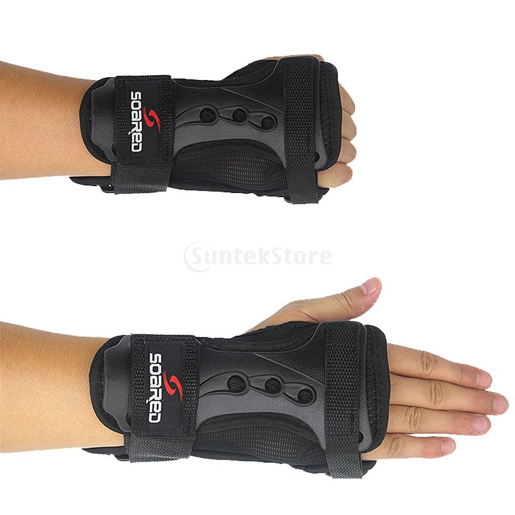 Prix pour 2 Pcs Snowboard Ski Équipement De Protection Gant Au Poignet Garde Pad Brace Sport Bracelets de Soutien Poignet Protecteur Blessures Bandage