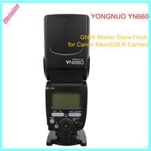 YN660 YONGNUO Беспроводная Вспышка Speedlite GN66 2.4 Г Беспроводной Радио Ведущий Ведомый для Canon Nikon Pentax Olympus YONGNUO YN 660