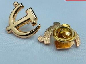 Image 3 - Cccp 소련 낫 망치 핀