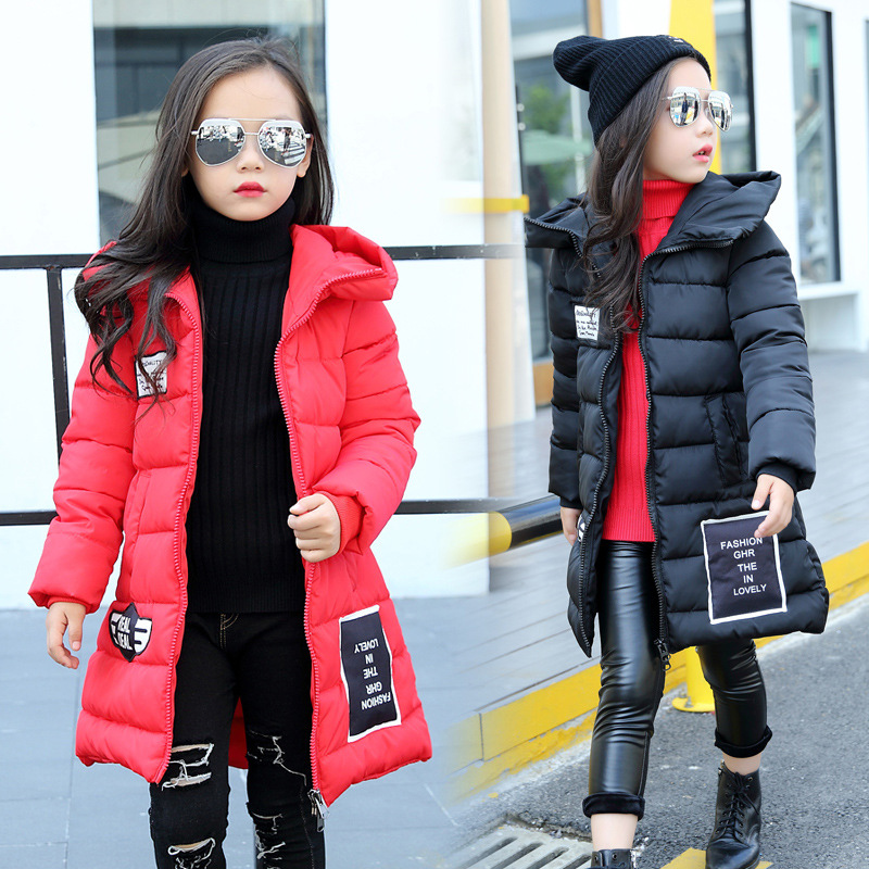 winter Fashion Girl's Down jackets/coats baby Girl winter Coats thick duck Warm jacket Children Outerwears for -20degree jackets цена