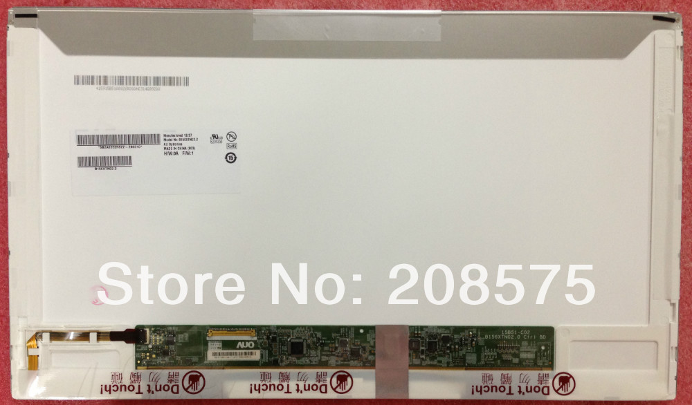 ФОТО Free Shipping B156XTN02.2 15.6 inch 1366x768 for Lenovo B570 Glossy 15.6 NEW LED Display Laptop Screen Pancel