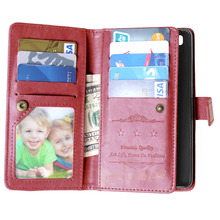 For Cover Huawei P8 Lite Case Photo Frame Wallet Flip PU Mobile Phone Case For Huawei P8 Lite Cover Phone Bag Case WolfRule <