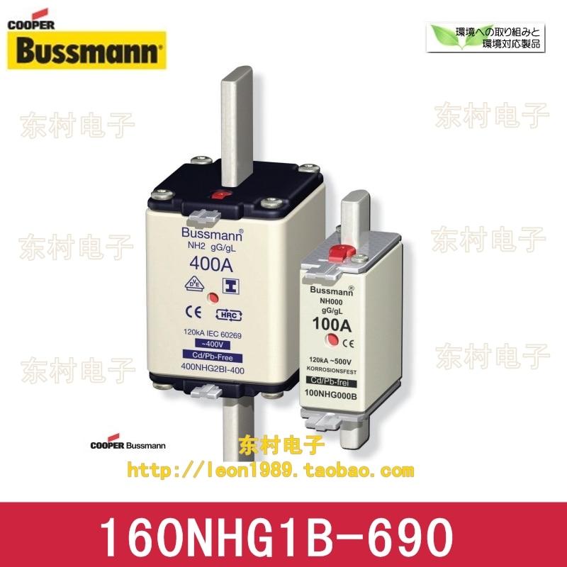 United States Cooper Bussmann Fuses 160NHG1B-690 160A 690V gG / gL fuses [sa]eaton eaton bussmann fuses 170m2670 350a 690v fast acting fuses