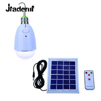 Jiaderu LED Solar Lamp Dimmable Light Multi Functional 12LEDs Easy To Be Hung Using With The