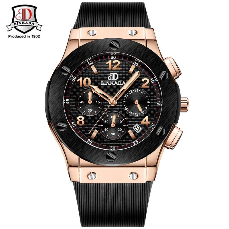 Moda Hombres Relojes de Marca de Lujo Casual Militar Cronógrafo - Relojes para hombres