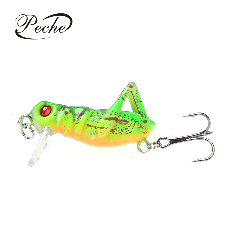 Sea Fishing Tackle Flying Fishing Lures Jig Wobbler Lure Grasshopper InsecWW