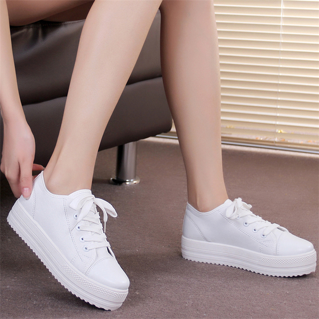 New 2015 new  high quality fashion sneakers lace up canvas women platforms shoes women floral sneakers women flats