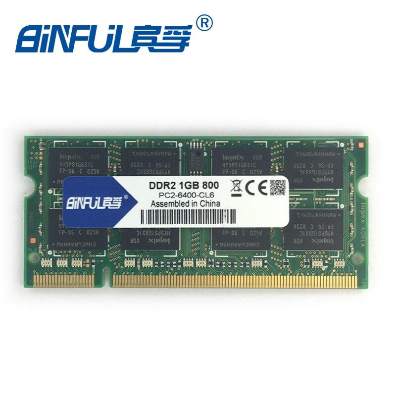 Binful מקורי חדש מותג DDR2 PC2-6400 1GB 800mhz עבור - רכיבי מחשב