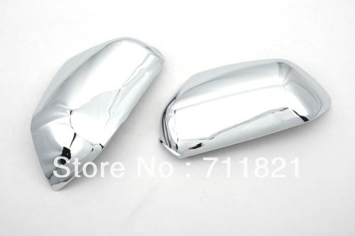 Car Styling Chrome Side Mirror Cover For Skoda Octavia MK2