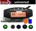 universal speedometer2015 popular LCD meter programmable motorcycle parts