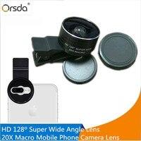 Orsda 2 IN 1 Dual Camera Lens For IPhone X 8 7 Plus HD128 Degree Super