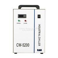 Enfriador de agua Industrial CW 5200AH enfriador de máquina láser cw5200 para husillo CNC tubo de enfriamiento láser 130W 150w
