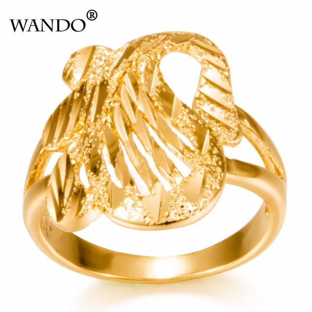 Wando Ring For Women Gold Color Ethiopian Wedding Arab Items Africa Jewelry