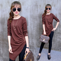 TX1800 Cheap Wholesale 2016 New Autumn Winter Hot Selling Women S Fashion Casual T Shirt Lady