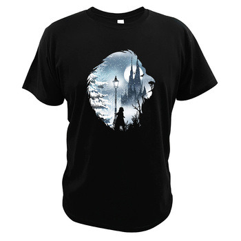 Aslan T shirt The Lion The Witch And The Wardrobe Hisper 100% Cotton Camisetas American Movie The Chronicles Of Narnia T-shirt