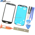 Mobile Phone Touch Panel Screen Outer Glass Lens Replacement for Samsung Galaxy SIII S3 i9300 with Tools UV Glue Blade Adhesive