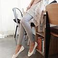 ГОРЯЧИЙ Новый Женщины Lady Sexy Эластичный Тощий поножи Тонкий Jeggings Повседневная Хлопок брюки Высокая Талия Готический Фитнес Упругой Леггинсы