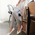 HOT New Lady Mulheres Sexy Stretchy Skinny leggings Jeggings Magros Casuais legging de Algodão de Alta Cintura Gótico Aptidão Leggings Elásticas