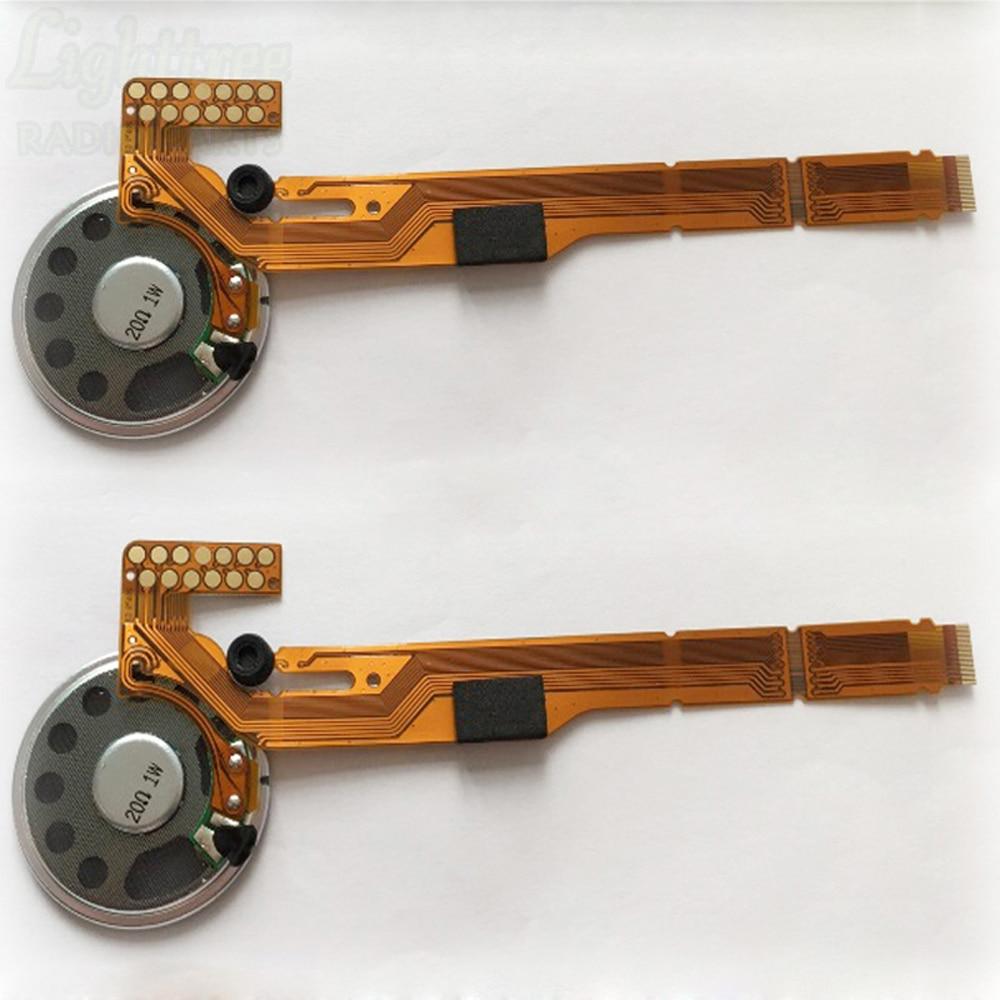 2X Αξεσουάρ Ευέλικτο καλώδιο με ηχείο για Motorola GP338 MTX960