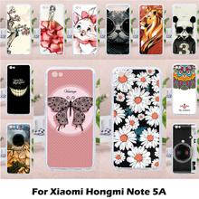 ФОТО taoyunxi cases soft tpu diy painted for xiaomi redmi note 5a redmi case silicon for note5a 5.5 inch case cover housing shell