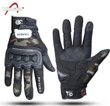 VEMAR Motorcycle Gloves Breathable Motorbike Moto Wear Non-slip Tactical Camouflag Motocross Motos