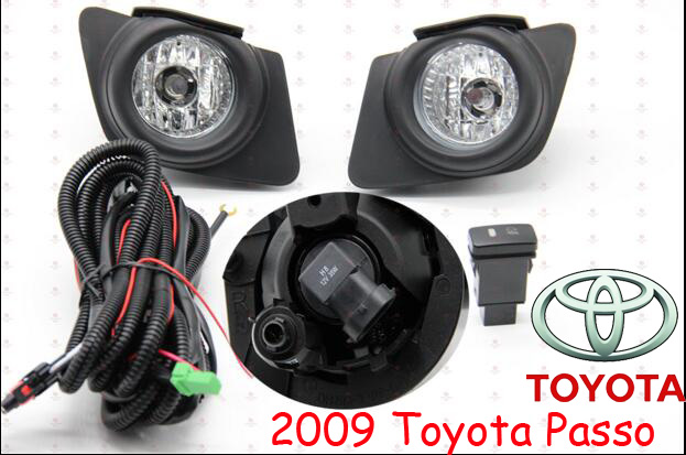 Passo fog light,2009,2pcs/set+wire of harness,Passo halogen light,4300K,Free ship! Passo headlight;corolla,RAV4,Cruiser, Paseo авто paseo в хабаровске