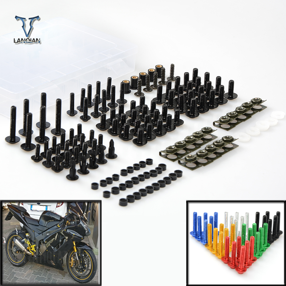 Motorcycle Accessories Fairing windshield Body Work Bolts Nuts Screw For SUZUKI GSR 600 750 1000 GSR600 GSR750 GSR1000