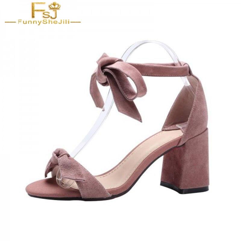 Bloc Femmes 2018 Printemps 13 Pompe Heelss Dames Cheville Arc Daim Talon Plus 12 Shoes11 Taille Fsj01 Chaussures En La Rose Automne wrqI7rP