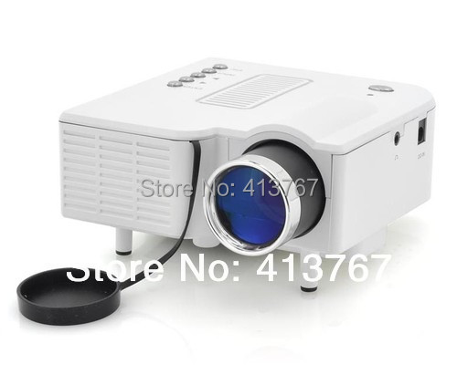 """60"""" Pocket  Mini LED Projector UC28+ Home Theater Support  HDMI VGA SD Card AV IN USB Input"""
