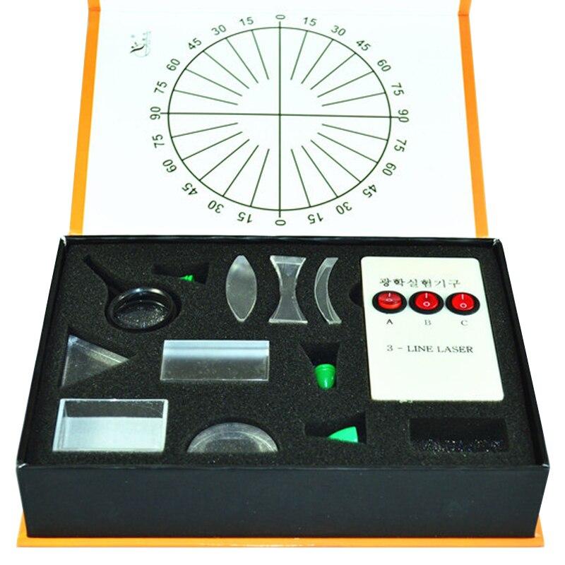 Lichtreflexion und Lichtbrechung Demonstrator für Physikalische Optik Lernspielzeug
