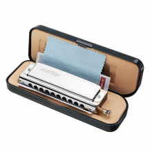 Easttop T10-40 10 Holes 40 Tones C Key Harmonica chromatic harmonicas Blues Jazz Rock Folk Lovers Musical Instrument Mouth Organ(China)