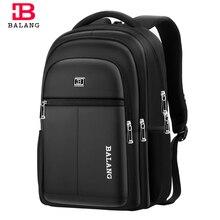 Balang dizüstü bilgisayar seyahat sırt çantası erkek sırt çantası erkekler rahat sırt çantası mochila hombre okul çantaları 15.6 inç dizüstü bilgisayar için Plecak su geçirmez